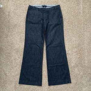 Women's GAP wide leg stretch jeans, size 8R